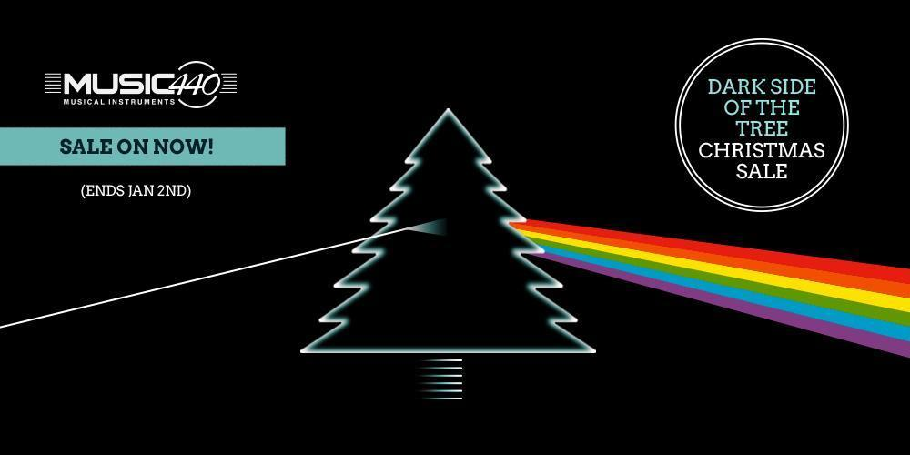 MUSIC 440 - THE DARK SIDE OF THE TREE CHRISTMAS SALE ON NOW! Sale finished