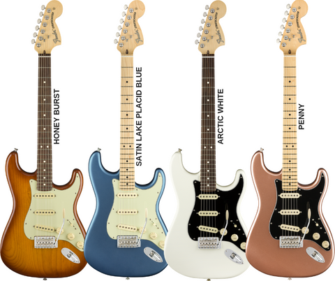 Fender American Performer Stratocaster - available colours