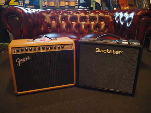Fender and Blackstar Amplifier