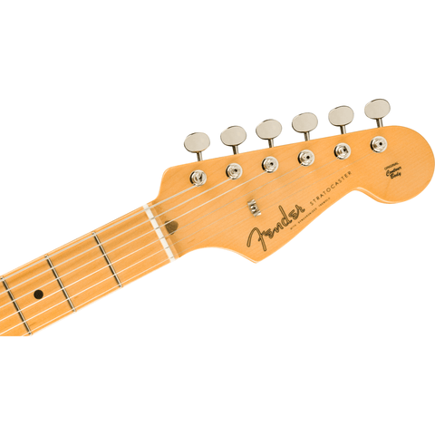 Image of Fender American Original '50s Stratocaster, Maple Fingerboard - Inca Silver - Music 440