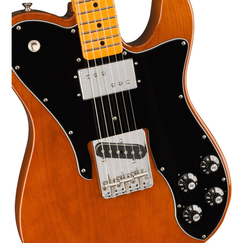Image of Fender American Original 70s Telecaster Custom, Maple Fingerboard, Mocha w/Hard Case - Music 440