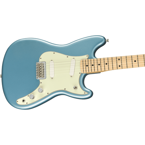 Fender Player Duo-Sonic, Maple Fingerboard - Tidepool - Music 440