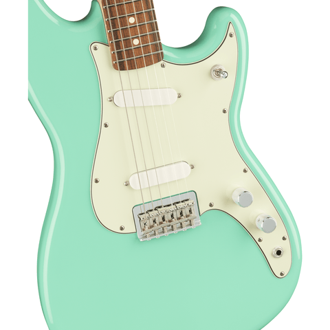Image of Fender Player Duo-Sonic, Pau Ferro Fingerboard - Seafoam Green - Music 440