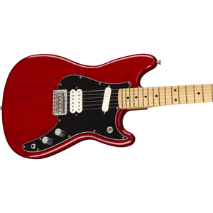 Fender Player Duo-Sonic HS, Maple Fingerboard - Crimson Red Transparent - Music 440