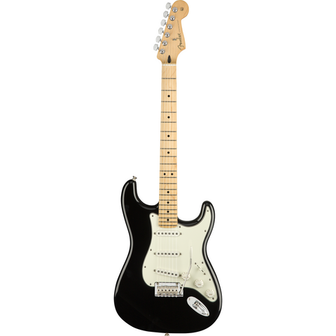 Image of Fender Player Stratocaster, Maple Fingerboard, Black