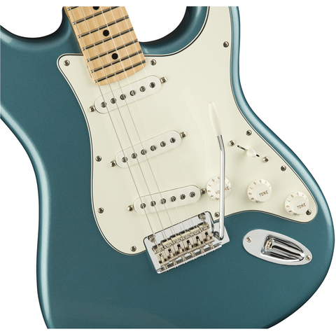 Image of Fender Player Stratocaster, Maple Fingerboard - Tidepool - Music 440