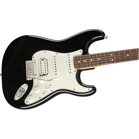 Image of Fender Player Stratocaster HSS, Pau Ferro Fingerboard - Black - Music 440