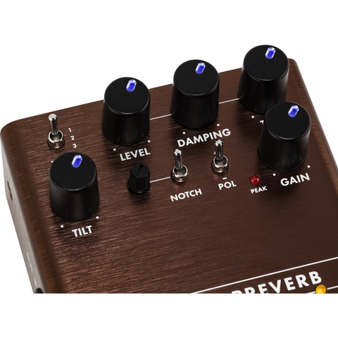 Image of Fender Acoustic Preverb Preamp/Reverb Pedal - Music 440