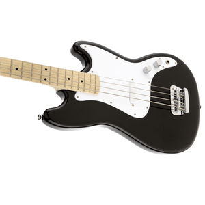 Squier Affinity Series Bronco Bass, Maple Fingerboard, Maple Fingerboard, Black - Music 440