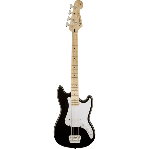 Image of Squier Affinity Series Bronco Bass, Maple Fingerboard, Maple Fingerboard, Black - Music 440