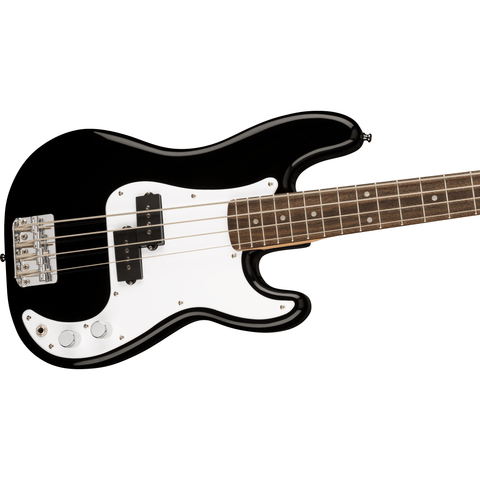 Image of Squier Mini Precision Bass, Laurel Fingerboard - Black - Music 440