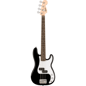 Squier Mini Precision Bass, Laurel Fingerboard - Black - Music 440