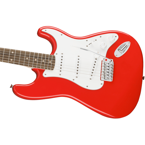 Image of Squier Affinity Series Stratocaster, Laurel Fingerboard - Race Red - Music 440