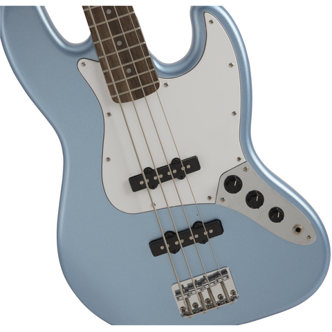 Squier FSR Affinity Series Jazz Bass, Laurel Fingerboard - Lake Placid Blue - Music 440