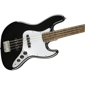 Squier Affinity Series Jazz Bass, Indian Laurel Fingerboard - Black - Music 440