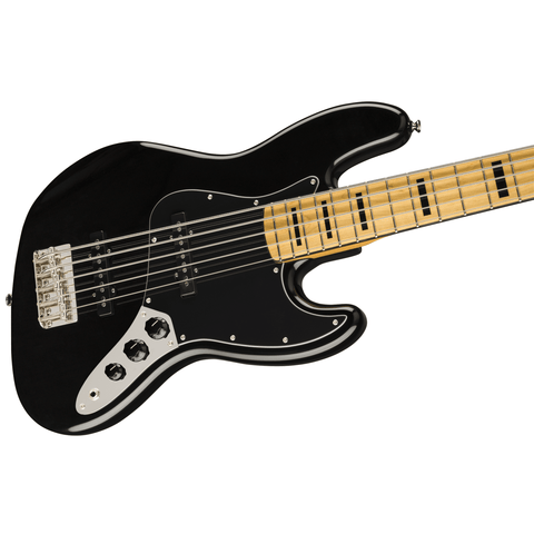 Squier Classic Vibe '70s Jazz Bass V, Maple Fingerboard - Black - Music 440