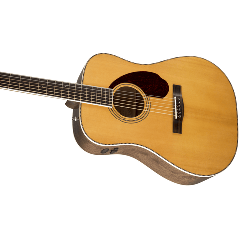 Fender PM-1 Standard Dreadnought w/Case, Ovangkol Fingerboard - Natural - Music 440