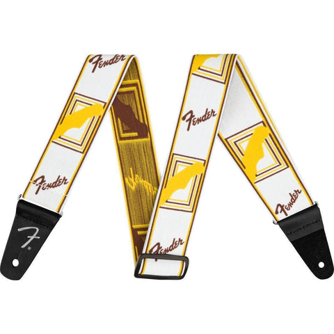 "Image of Fender Weighless 2"" Monogrammed Strap - Various Colours - Music 440"