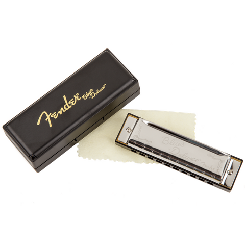 Fender Blues Deluxe Harmonica - Various Keys - Music 440