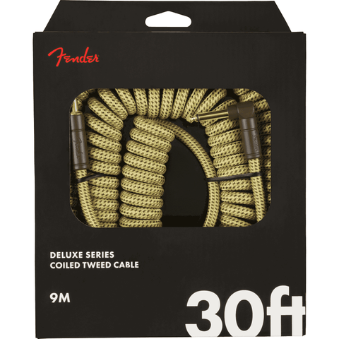 Image of Fender Deluxe Coil Cable, 30' - Various Colours - Music 440