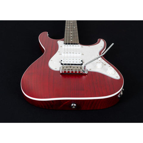Image of Michael Kelly 1963 Electric Guitar - Open Pore Trans Red - Music 440