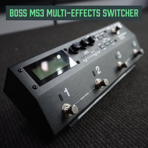 BOSS MS3 Multi Effects Switcher - Music 440