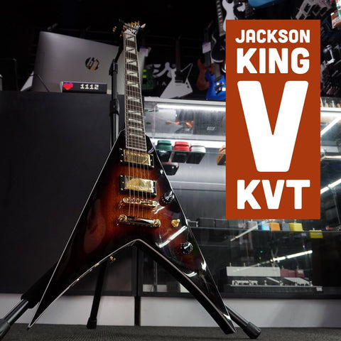 Image of Pro Series King V KVT, Ebony Fingerboard, 3-Tone Sunburst