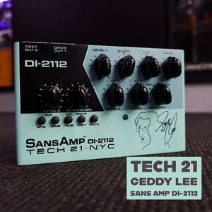Sansamp Tech 21 NYC Geddy Lee DI-2112 - Music 440