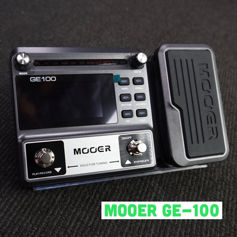 Image of Mooer GE100 Guitar Multi-Effects Pedal - Music 440