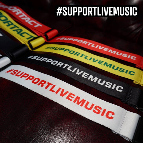 Image of Fender Support Act Charity Guitar Strap - Various Colours - Music 440