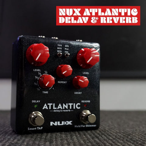 Image of NU-X Verdugo Series Atlantic Multi Delay & Reverb Effects Pedal - Music 440