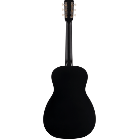 Image of Gretsch G9520E Gin Rickey Acoustic/Electric w/Soundhole Pickup, Walnut Fingerboard - Smokestack Black