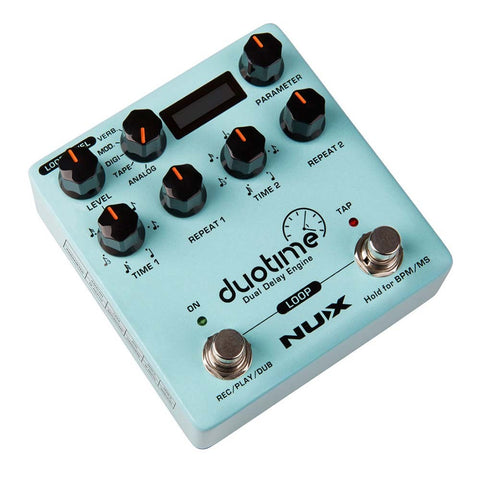 Image of NU-X NDD6 Duotime Dua Delay Engine Effects Pedal - Music 440