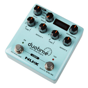 NU-X NDD6 Duotime Dua Delay Engine Effects Pedal - Music 440