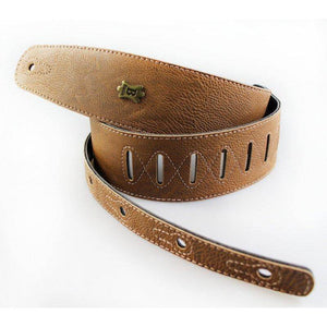 Basso Vegan Leather Guitar Strap ECO-3 - Whiskey - Music 440