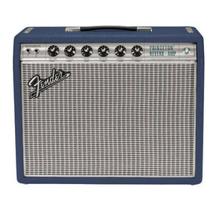 Fender Limited Edition '68 Custom Princeton Reverb Guitar Amp - Navy Blue FSR - Music 440
