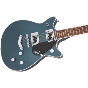 Gretsch G5222 Electromatic Double Jet BT w/V-Stoptail, Laurel Fingerboard - Jade Grey Metallic - Music 440