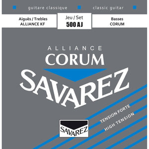 Savarez Corum Alliance Nylon Strings - High Tension - Music 440