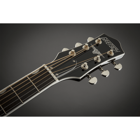 Image of G5013CE Rancher Jr. Cutaway Acoustic Electric, Fishman Pickup System, Black - Music 440