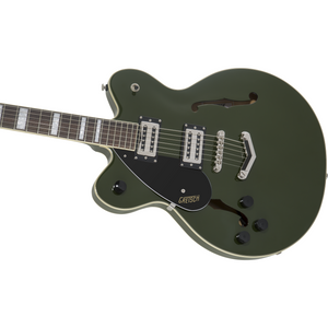 G2622LH Streamliner Center Block with V-Stoptail, Left-Handed, Laurel Fingerboard, Broad'Tron BT-2S Pickups, Torino Green - Music 440