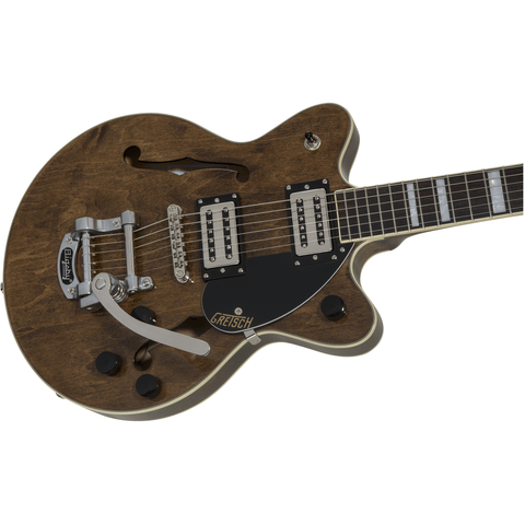 Image of G2655T Streamliner Center Block Jr. with Bigsby, Laurel Fingerboard, Broad'Tron BT-2S Pickups, Imperial Stain - Music 440