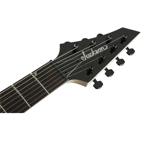 Image of Jackson JS Series Dinky Arch Top JS22-7 DKA HT, Amaranth Fingerboard, Gloss Black - Music 440