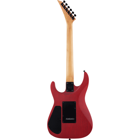 Jackson JS Series Dinky Arch Top JS24 DKAM, Caramelized Maple Fingerboard - Red Stain - Music 440