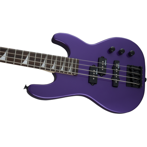 Image of Jackson JS Series Concert Bass Minion JS1X, Amaranth Fingerboard - Pavo Purple