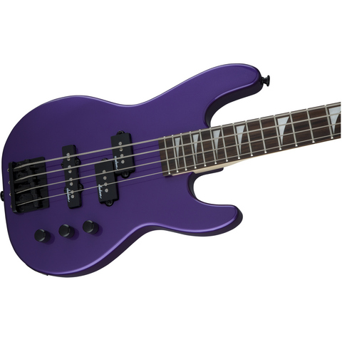 Jackson JS Series Concert Bass Minion JS1X, Amaranth Fingerboard - Pavo Purple