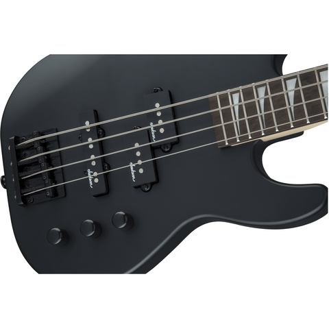 Image of Jackson JS Series Concert Bass Minion JS1X, Amaranth Fingerboard - Satin Black - Music 440