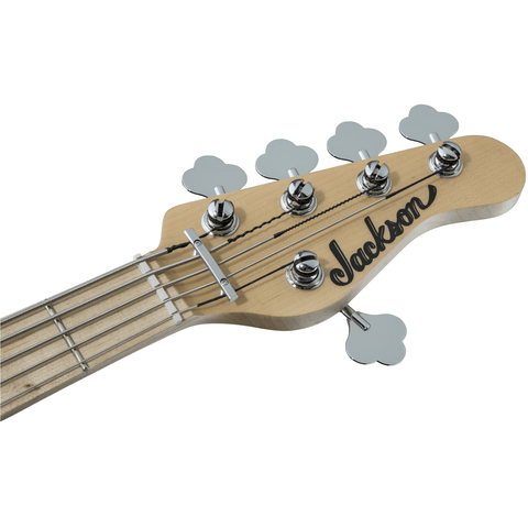 Jackson X Series Signature David Ellefson Concert Bass CBXM V, Maple Fingerboard - Snow White - Music 440