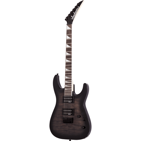 Jackson JS Series Dinky Arch Top JS32Q DKA HT, Amaranth Fingerboard - Transparent Black Burst - Music 440