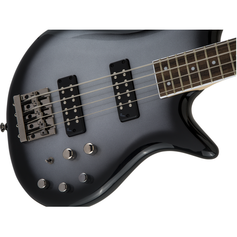 Image of Jackson JS Series Spectra Bass JS3, Laurel Fingerboard - Silverburst - Music 440
