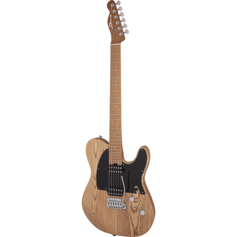 Image of Charvel Pro-Mod So-Cal Style 2 24 HH 2PT, Caramelized Maple Fingerboard - Natural Ash - Music 440